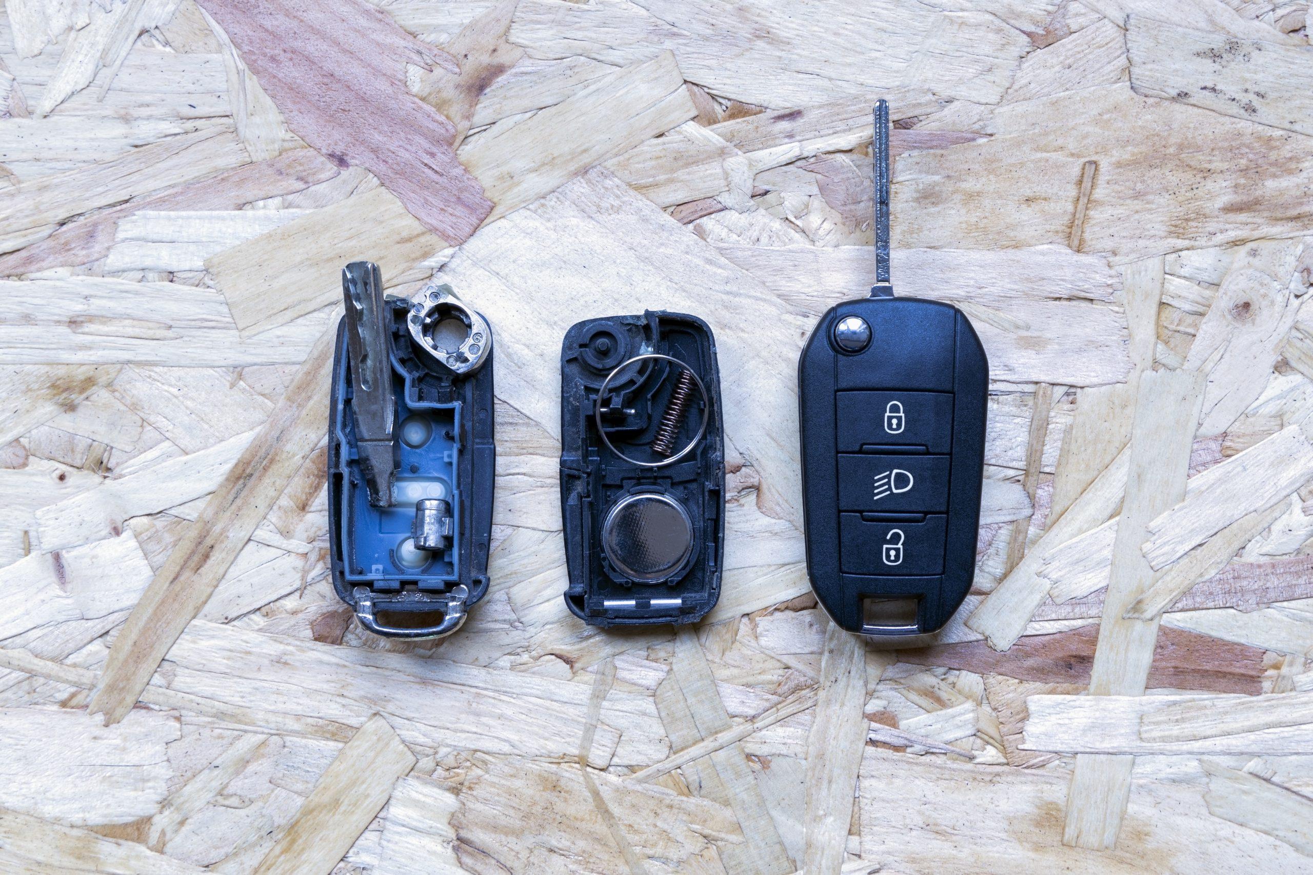 replacing faulty car lock
